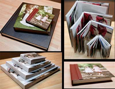 Wedding albums and print packages from Ian Williams Photography